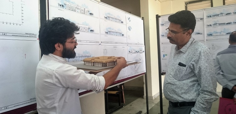 Architectural Thesis Evaluation Conducted At SMVDU